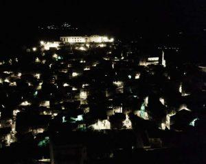 San Piero Patti di notte